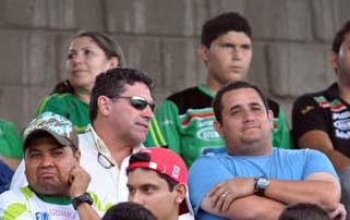 Luis Fernando Suarez en el Yankel