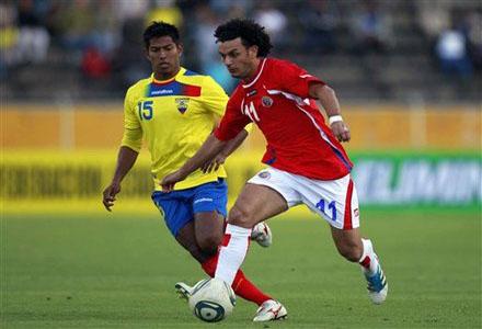 David Quiroz de Ecuador y Michael Barrantes