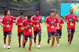 Entrenamiento Costa Rica U23