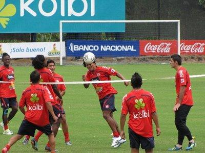 Entrenamiento U23 Costa Rica