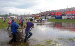 Fausto Flores Lagos inundado