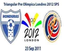 Honduras Costa Rica Eliminatoria Olimpica