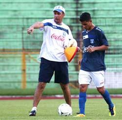Miguel Falero y Gerson Rodas