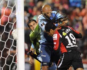 Gol Jonathan McDonald contra Motagua