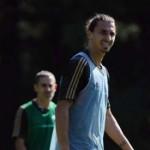 Zlatan Ibrahimovic es baja para enfrentar al Barca