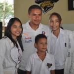 Olimpia lleva alegría a la Mayan School