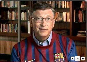 Bill Gates compra el pase de Messi y promete hacerlo jugar a Newell's