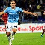 La Lazio se impone en el derbi romano