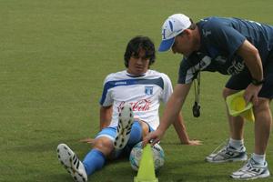 Roger Espinoza y el Profe Carlos Gutierrez