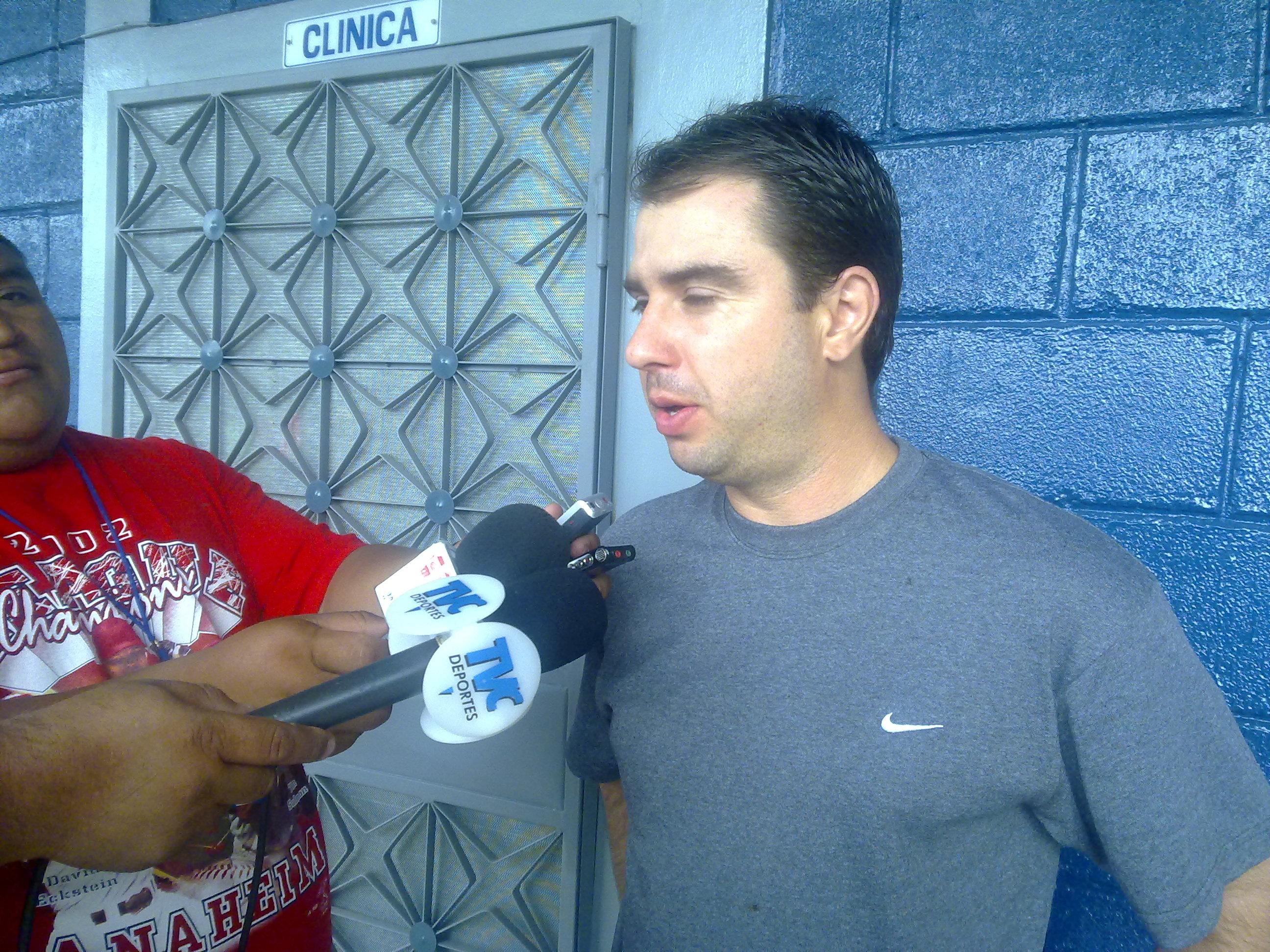 Ulises Moreno, preparador físico