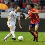 Con el último aliento, España empata ante Costa Rica