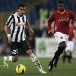 La Roma y la Juventus acaban en tablas