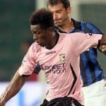 Edgar Alvarez estuvo en el empate del Palermo