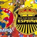 Historia Olimpia-Real España en finales