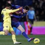 Villarreal y Barcelona empatan en un gran encuentro
