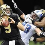 Leones y Santos, atractivo en la postemporada de la NFL