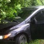 Futbolistas hondureños viven para contar accidente vial en Guatemala