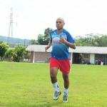 El gordito Cristiano, seguirá esperando para debutar en Olimpia
