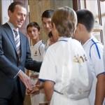 El Real Madrid inaugura una escuela de fútbol y de baloncesto en Honduras