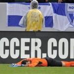 La derrota de Honduras ante México en fotos