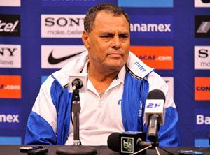 Maurio Alfaro entrenador El Salvador