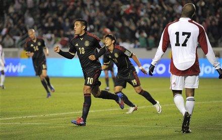 Marco Fabian de la Mora anotó tres goles ante Trinidad/Tobago