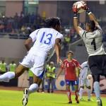 Pemberton salvó a Costa Rica ante Honduras