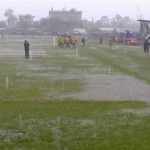 La lluvia impidió conocer al equipo ascendido a Liga Nacional