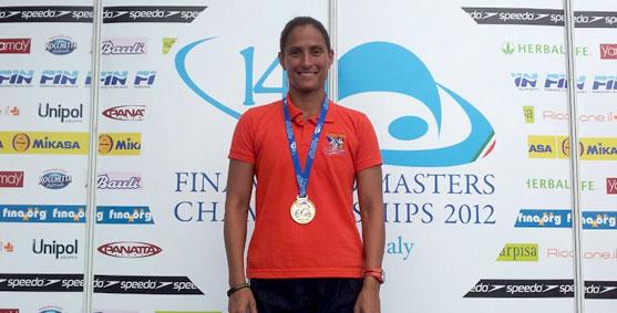 La nueva campeona Mundial de Natación, Ana Joselina Fortín