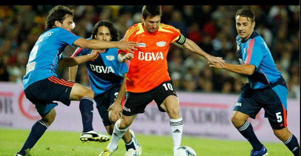 Messi en Colombia