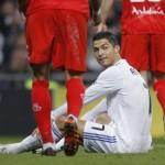 El Sevilla mide la tristeza de Cristiano