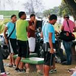 Huelga en Marathón por falta de pagos