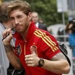 Sergio Ramos llega a tiempo
