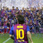 Messi y España, pareja perfecta de 2012