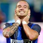 El Inter sigue sin convocar al holandés Sneijder