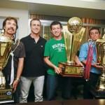 Olimpia: Un brindis de Tricampeón