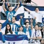 La afición siempre fiel a la Selección de Honduras