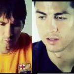VIDEO: Messi y Cristiano se retan por mensajitos