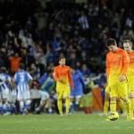 La primera derrota del Barça en la Liga Española