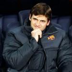 Vilanova dirigirá al Barcelona ante Real Madrid por WhatsApp