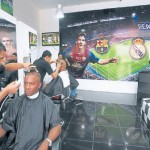 En Honduras se vive una fiebre desmedida por el Barça-Madrid