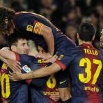 Pinchó Barcelona en casa