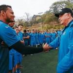 VIDEO: Cuate Castillo asumió como técnico de Motagua