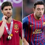 Xavi y Xabi Alonso, la esperanza contra Francia