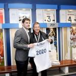 Casillas muestra el Bernabéu a la comisión Olímpica