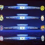 Cruces  para Barcelona y Real Madrid, complicado para el Málaga