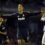 Real Madrid gana con doblete de Cristiano