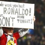 FOTOS: Así recibió el Old Trafford a Cristiano Ronaldo