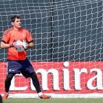 Casillas se reincorpora a práctica del Real Madrid