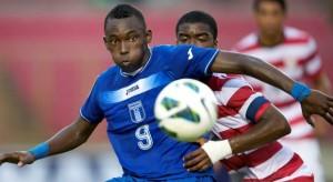 Albert Elis anotó el empate de Honduras